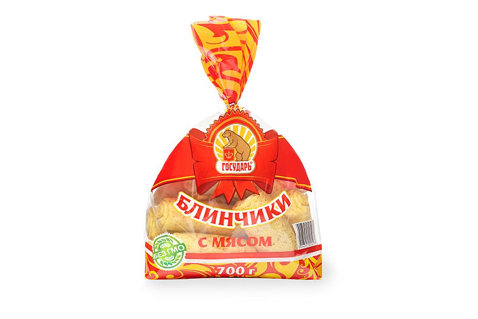Блинчики «С мясом» (пакет)