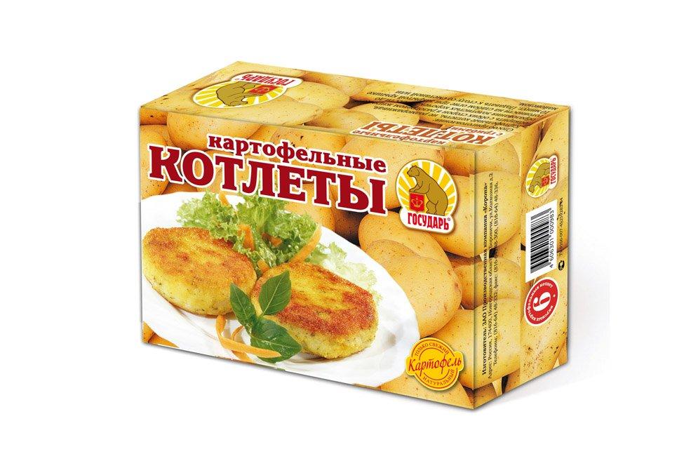 Котлеты «Картофельные»