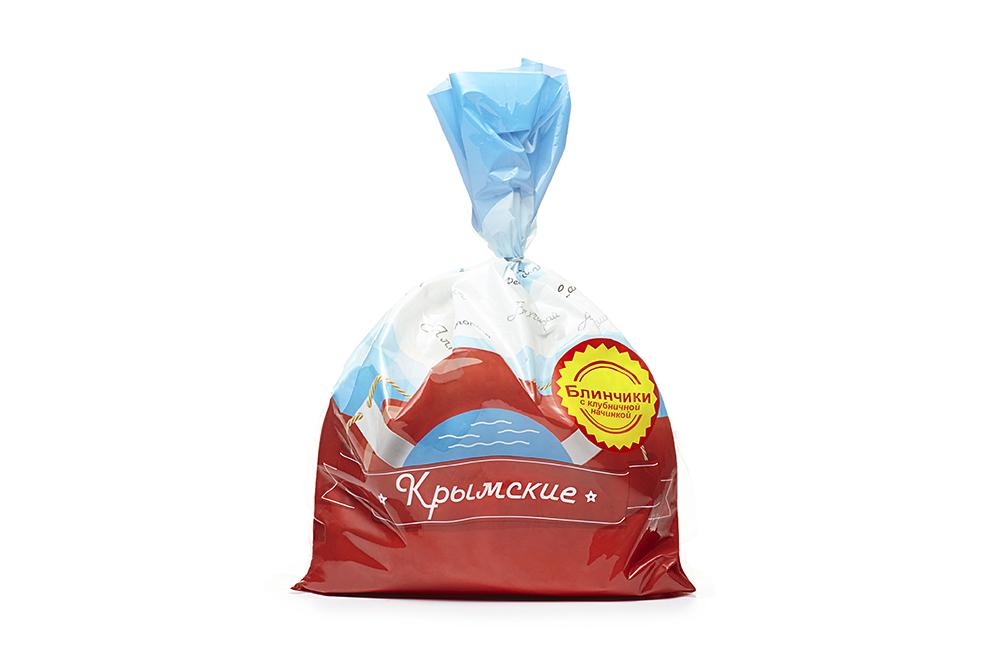 Блинчики с клубничной начинкой «Крымские»