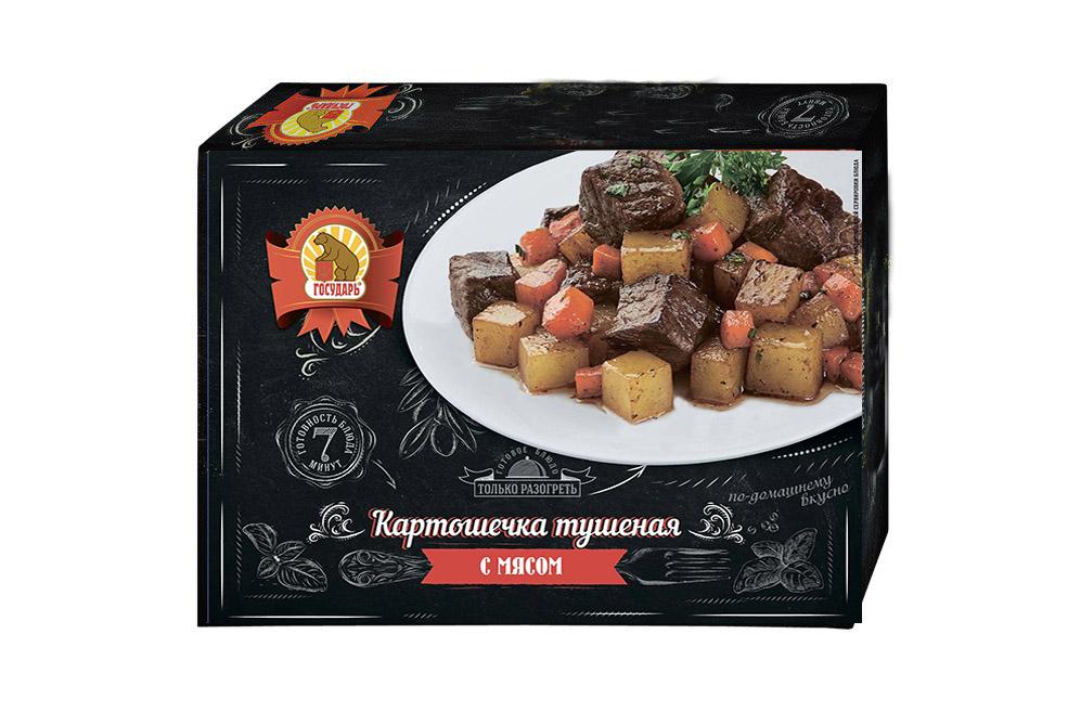 Картошечка тушеная с мясом