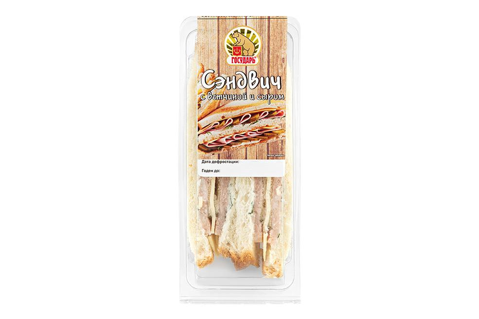 Сэндвич c ветчиной и сыром