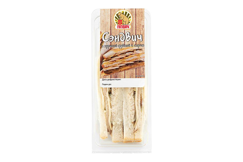 Сэндвич с куриной грудкой и сыром